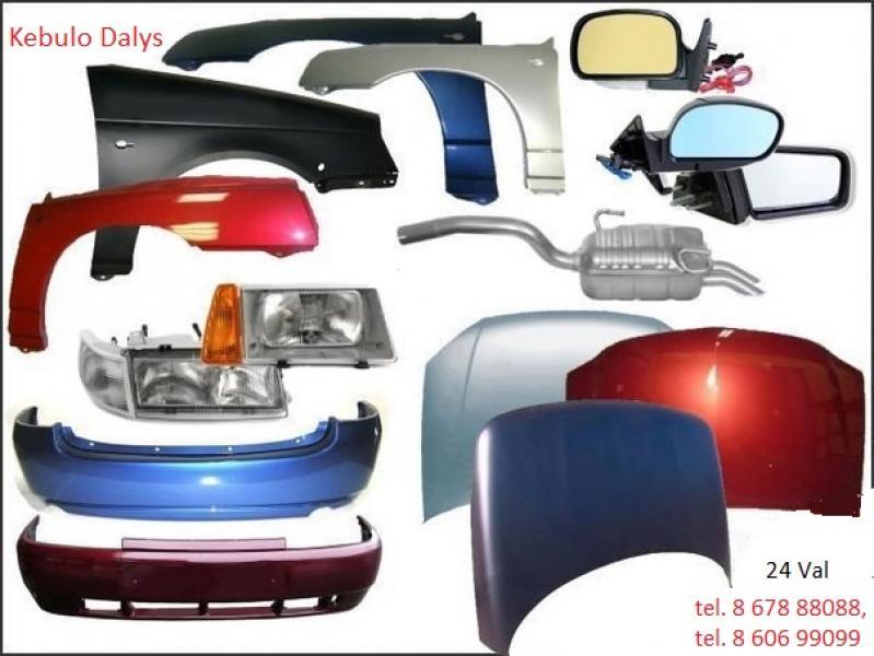 Audi TT kėbulo dalys-0
