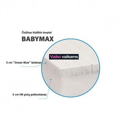Unikalus čiužinys kūdikių lovytėms-1