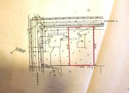 Sklypas namo statybai Naujamiesčio g.52-3