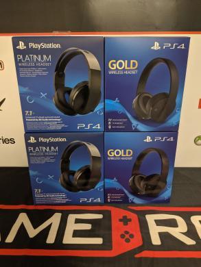 Naujos Playstation Gold / Platinum ausinės-0