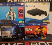 Naujos Playstation 4 Slim konsolės-0