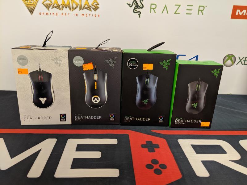 Naujos Razer Deathadder kompiuterio pelės-0