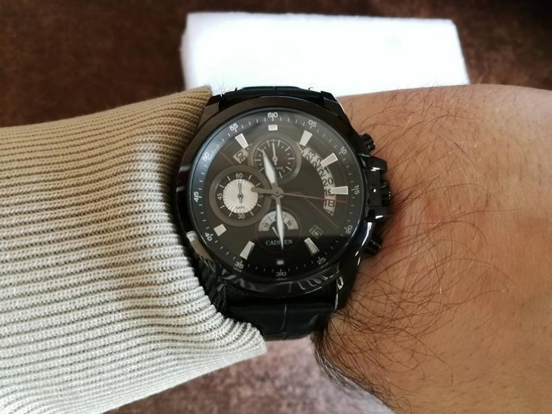 CADISEN ryškus gražus laikrodis dėžutėje-4