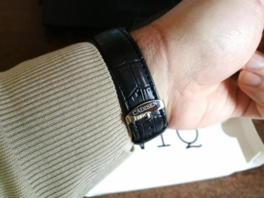 CADISEN ryškus gražus laikrodis dėžutėje-5
