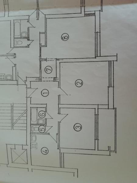 3 kamb. nestandartinis butas miško mikrorajone -1