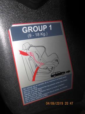 Automobilio kėdutė 0-18 kg.-4