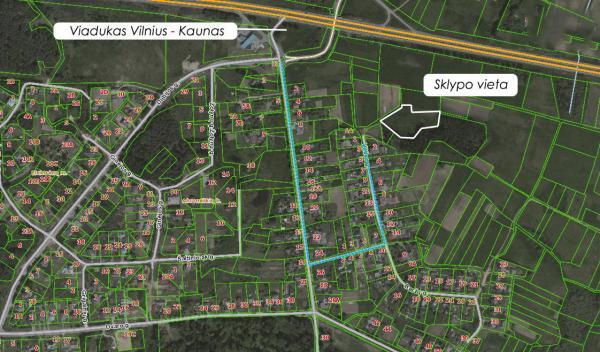 Elektrėnų sav., Abromiškių k., Vilties g., žemės ūkio paskirties sklypas-7