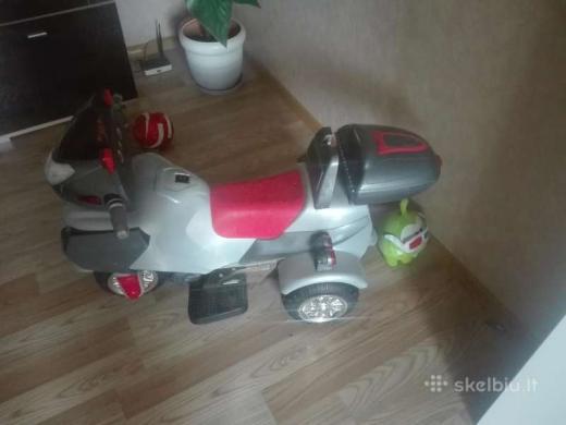Elektrinis Motociklas-1