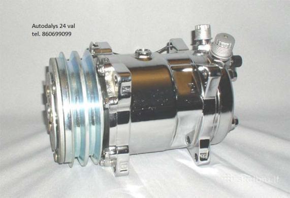 A/C kompresoriai kondicionieriaus siurbliai radiatoriai-2