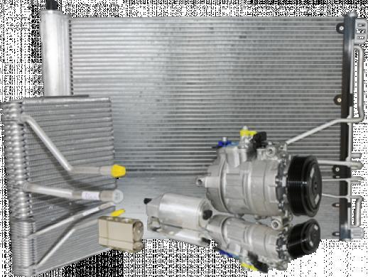 Kondicionieriaus Radiatoriai Aušinimo Interkulerio-3