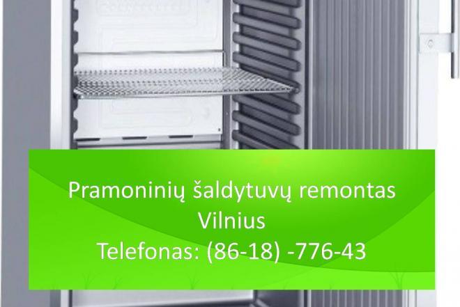 Pramoniniu saldytuvu remontas Vilnius 861877643-0
