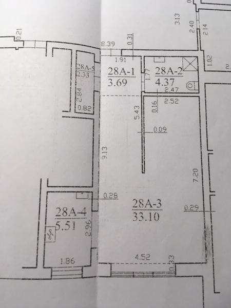 Parduodamas 2k. butas, plotas 49.00 kv.m., Palangoje-5
