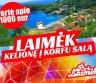 Nuostabi kelionė į Korfu Graikijoje dviems už suvenyro kainą -0