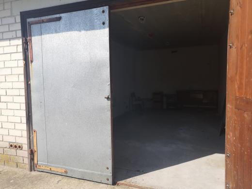 Parduodamas Palangoje, Ganyklų g., mūrinis garažas-1