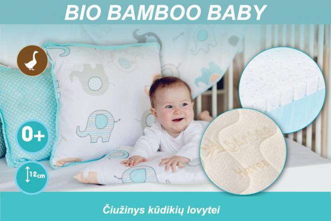 Čiužinys kūdikio lovytei BIO BAMBOO BABY-0