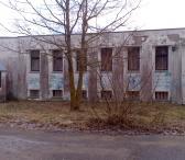 Jurbarke,parduodu  pastatą 765m2 su žeme 65a.-0