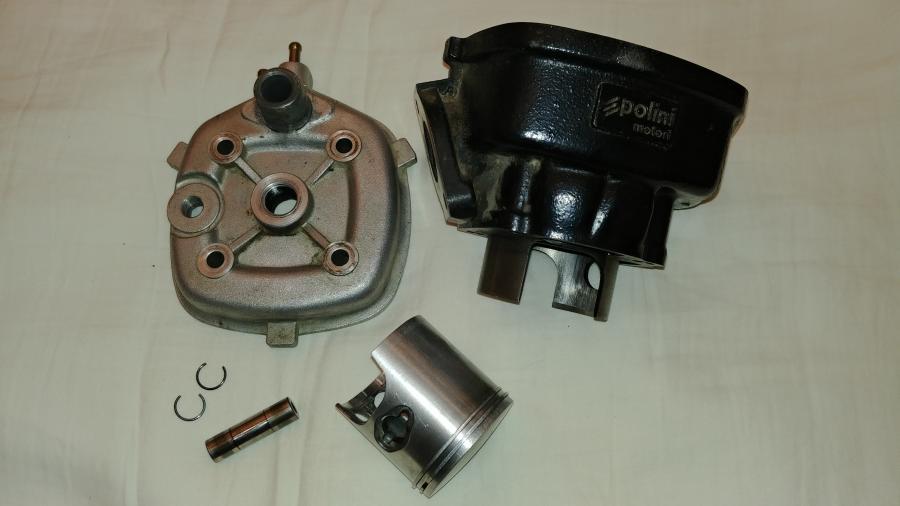 Polini Sport 70cc Minarelli Horizontal cilindro komplektas-0