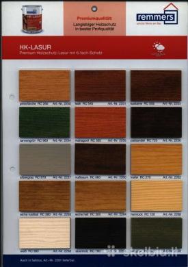 Remmers Hk lasur medienos dažai impregnantas  20ltr-1