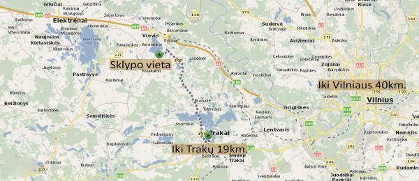 Elektrėnų sav., Šadubalio k., Ąžuolų g., namų valdos, žemės ūkio paskirties sklypas-7