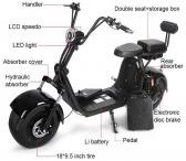 "Parduodamas ""Citycoco 2000w Electric Scooter Big Wheel""-0"