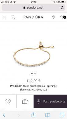 Pandora Shine zerinti slankiojanti apyranke -0