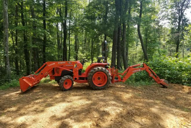 """149618 (B) """"Kubota L3901"""" naudoti traktorių krautuvai-0"""