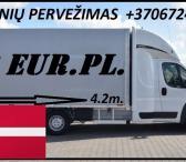 08d. / 09d. / 10d. Galim paimti krovinius / siuntas iš Danijos į LIETUVA Galime parvežti jūsų siuntas, krovinius, baldus, buitine technika, motociklus, kubilus, pirtis, įrengimus, medžiagas ir t.t. www.voris.lt info@voris.lt +37067247506EL.PAŠTAS: ; SKYPE-0
