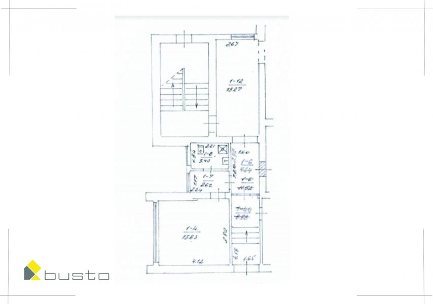 Palanga, Šventoji, Jūros g., 1 kambario butas-4