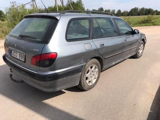 Peugeot 406 2.2 98kw 2003m.-1
