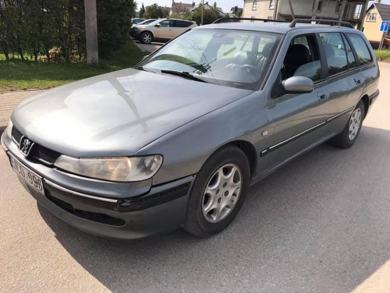 Peugeot 406 2.2 98kw 2003m.-2