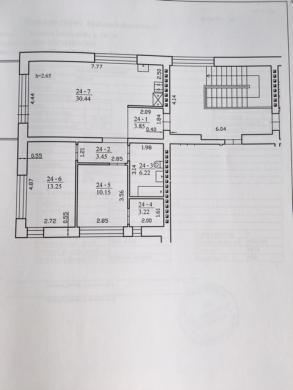 Parduodamas 3-jų kambarių butas Lazdynėlių g.-2
