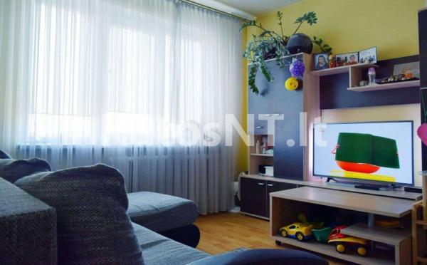 Parduodamas 2- jų kambarių su holu butas Gargžduose, Dariaus ir Girėno gatvėje-2