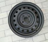 Parduodamas R15 plieninis štampuotas Toyota Corolla ratlankis -0