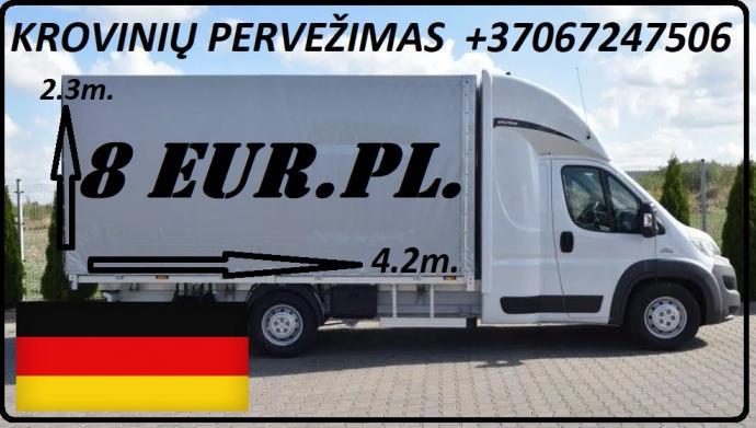 Galim paimti krovinius / siuntas iš Vokietijos į LIETUVA ( Leipcigas / Berlynas / Drezdenas / Frankfurtas / Niurnbergas ) Galime parvežti jūsų siuntas, krovinius, baldus, buitine technika, motociklus, kubilus, pirtis, įrengimus, medžiagas ir t.t. www.vori-0