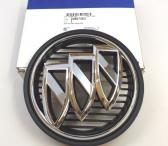 2014-2017 Buick Regal Front Grille Emblem Chrome Tri Shield new-0