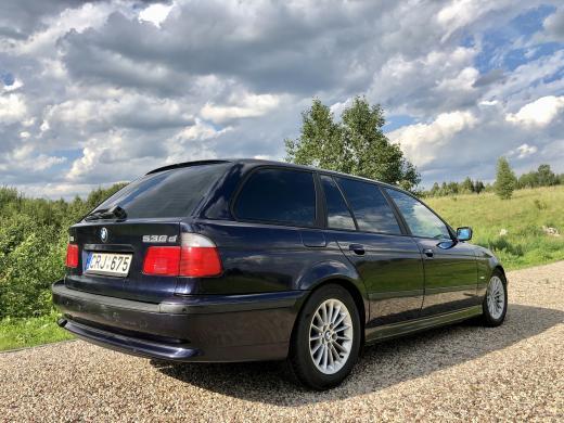 BMW 530, 3.0D, universalas, 2000m. E39-4
