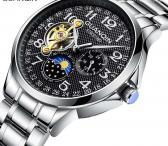 GUANQIN solidus šveicariško lygio mechaninis laikrodis firminėje dėžutėje-0