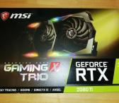 Parduodamas MSI GeForce RTX 2080 Ti GAMING X TRIO-0
