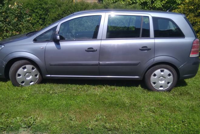 Opel Zafira 2006m. dyzelinas-0