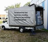 KROVINIŲ GABENIMAS LIETUVA-LATVIJA-LIETUVA-0