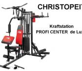Daugiafunkcinis Treniruoklis Christopeit Profi Center DE Luxe -0