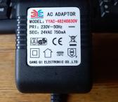 Ac Adaptor 24v/750ma-0