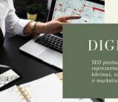 SEO paslaugos Jūsų verslui,  internetinių svetainių kūrimas, socialinių tinklų administravimas.-0
