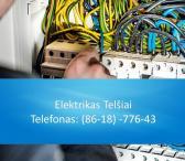 Elektrikas Telšiai 861877643-0