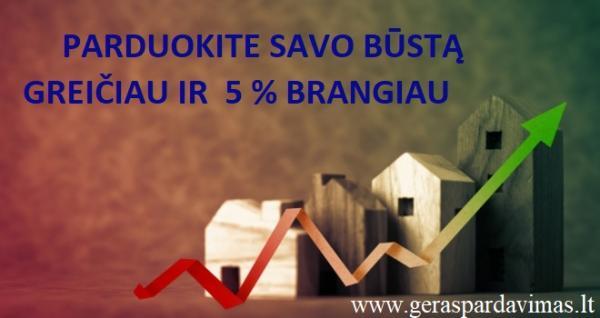 PARDUOKITE SAVO BŪSTĄ GREIČIAU IR 5 % BRANGIAU-0
