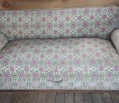Senovinė antikvarinė sofa/kušetė-0