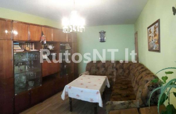 Parduodamas 4- rių kambarių butas Gargžduose, J.Janonio gatvėje-3