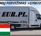 Transporto Paslaugos Meno kūriniams gabenti Lietuva – Vengrija-0