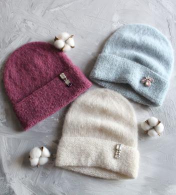 Alpakos vilnos kepurės-0