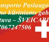 Eksponatų ir parodų įrangos pervežimas Lietuva – Šveicarija – Lietuva ! Antikvarinių daiktų gabenimas Lietuva – Šveicarija  – Lietuva ; Parodų logistika Lietuva – Šveicarija – Lietuva  ;  Muzikos instrumentų tarptautinis gabenimas Lietuva – Šveicarija – L-0